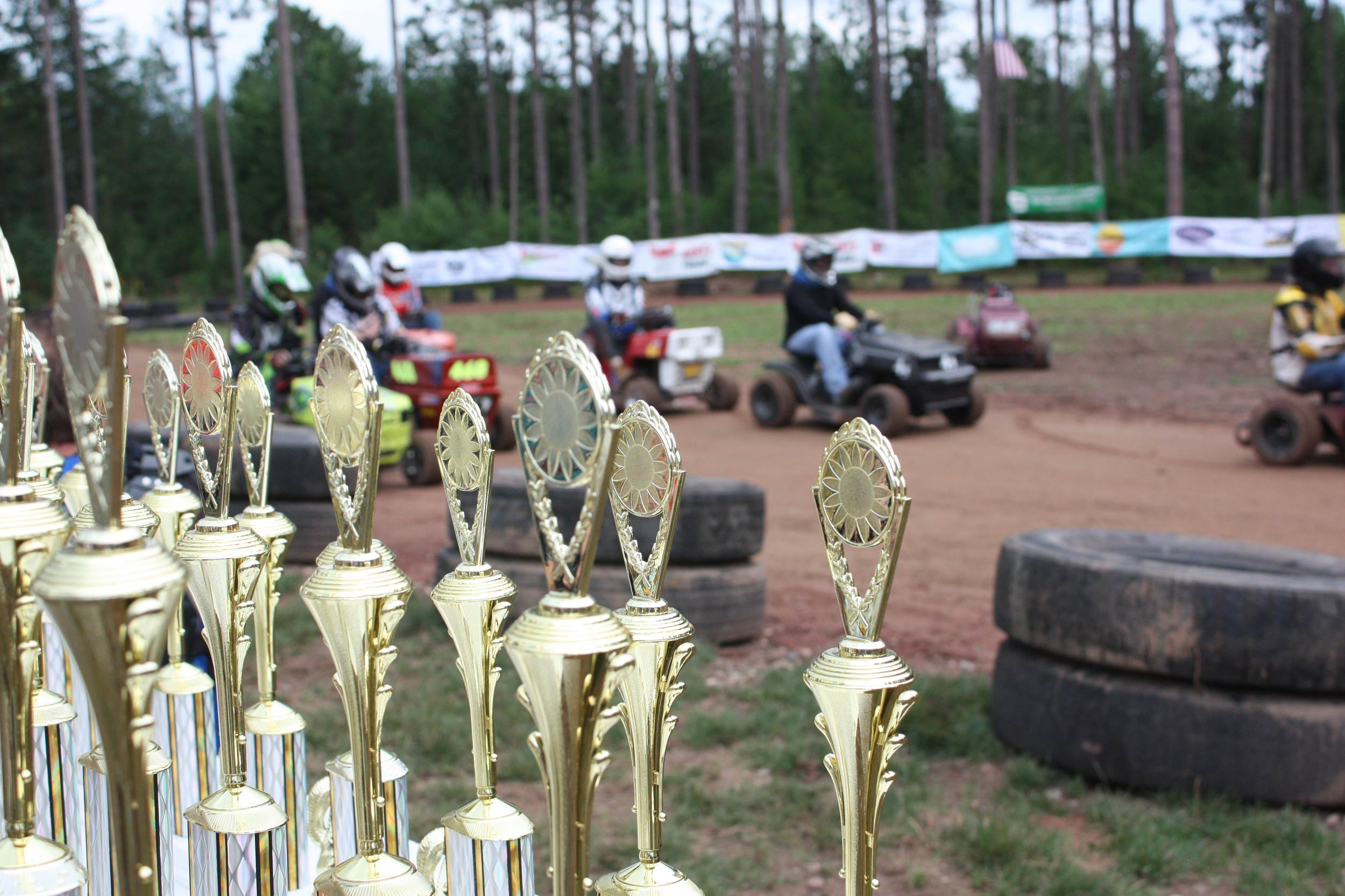 Wisconsin Lawn Mower Racing Trophies